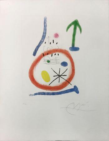 Aguafuerte Y Aguatinta Miró - CHEMIN DE RONDE III