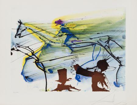Litografía Dali - Cheval de Course (26)
