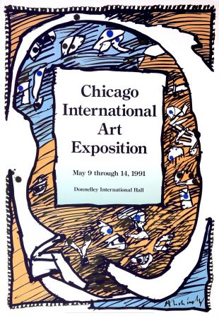 Cartel Alechinsky - Chicago International Art Exposition