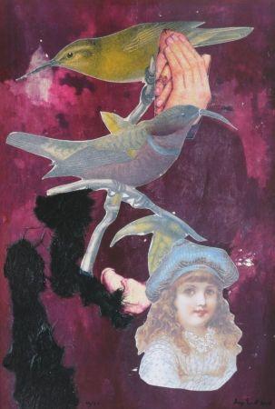 Litografía Ernst - Childhood