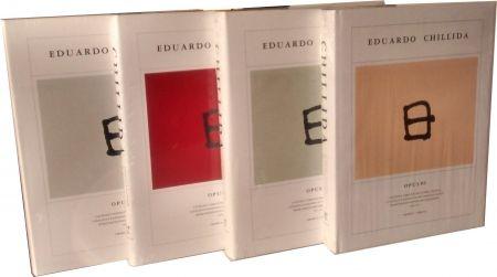 Libro Ilustrado Chillida - Chillida Opus 4 vol. Catalogue raisonné graphic work. 1959-2001
