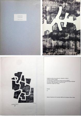 Libro Ilustrado Chillida - CHILLIDA SCULPTURES. Derrière Le Miroir n° 174. Nov. 1968. TIRAGE DE LUXE SIGNÉ.