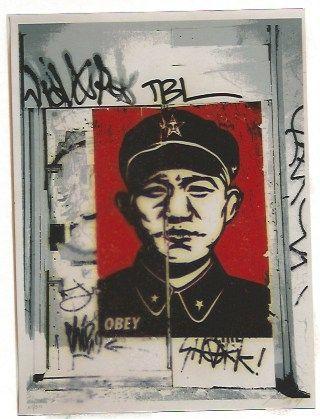 Serigrafía Fairey - Chinese San Francisco