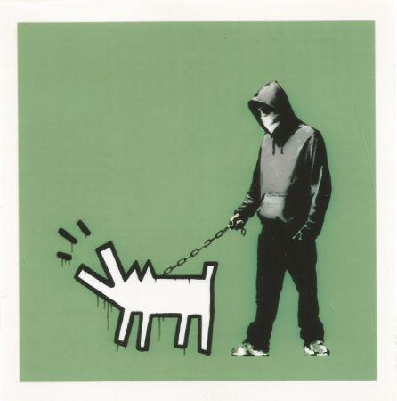 Serigrafía Banksy - Choose your weapon - Slate