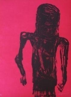 Litografía Reyes - Christ