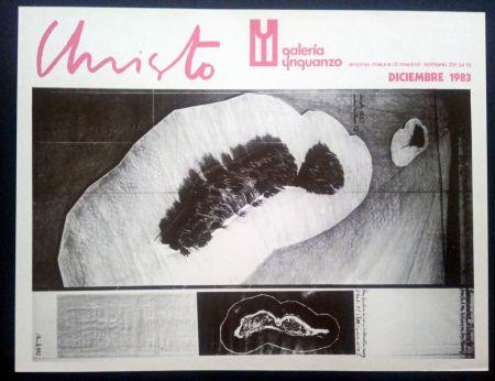 Cartel Christo - Christo - Galeria Ynguanzo 1983