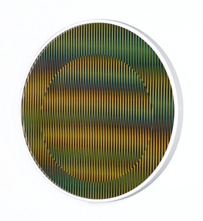 Múltiple Cruz-Diez - Chromointerference Manipulable Circulaire B