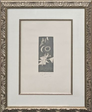 Litografía Braque - CIEL GRIS II
