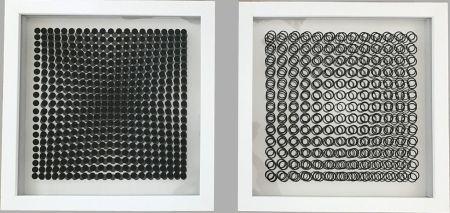 Sin Técnico Vasarely - Cinétiques VI White 2 works