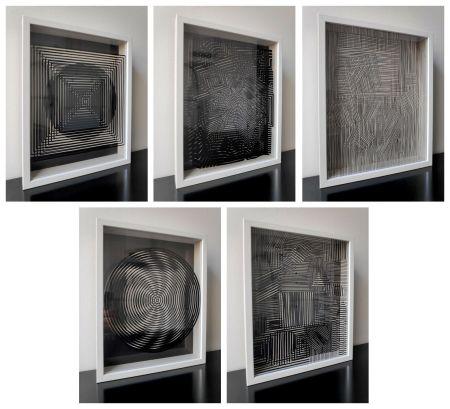 Múltiple Vasarely - Cinetiques