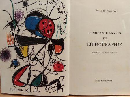 Libro Ilustrado Miró (After) - Cinquante annees De lithographie