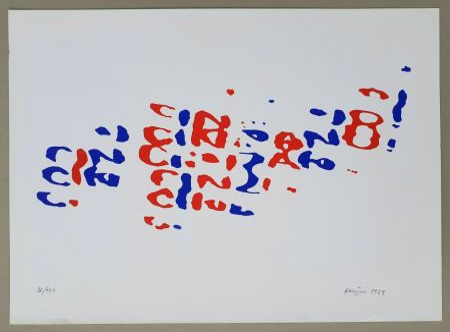 Litografía Hains - Cinzano