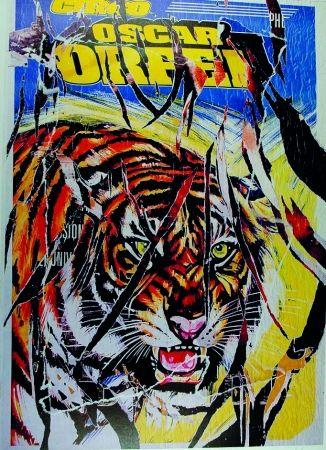 Serigrafía Rotella - Circo Orfei