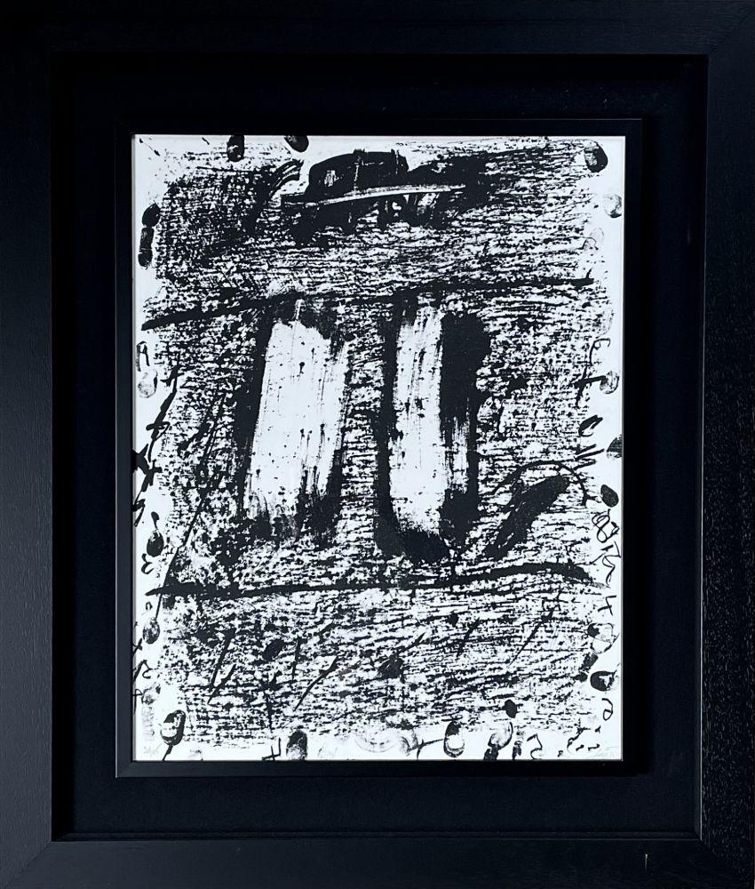Litografía Tàpies - CIRCULO DE PIEDRA