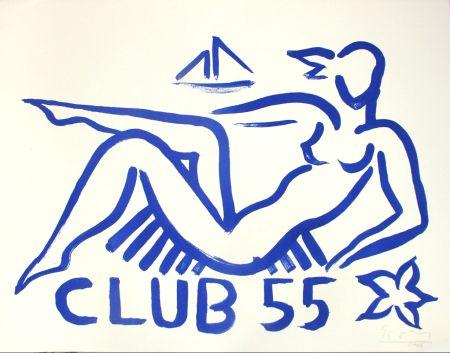 Litografía Szczesny - Club 55