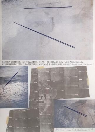 Litografía Oppenheim - Cobalt Vectors