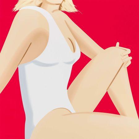 Serigrafía Katz - Coca Cola Girl 7 (Portfolio of 9)