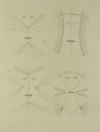 Grabado Brauner - Codex d'un visage