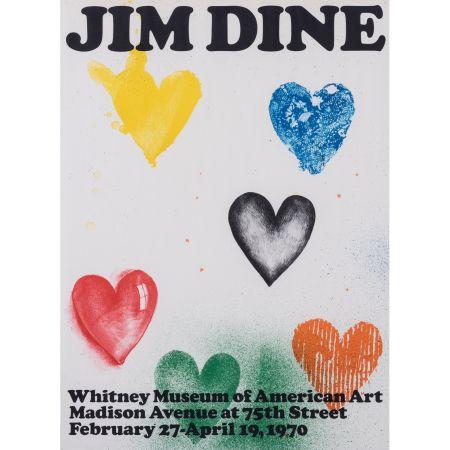 Cartel Dine - Coeurs pour le Whitney