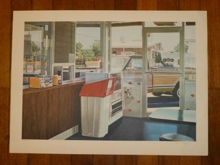Litografía Goings - Coffe shop