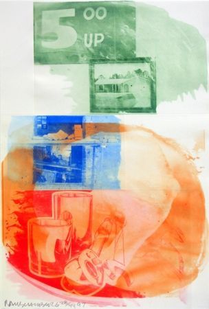 Talla En Madera Rauschenberg - Collateral, from Ground Rules