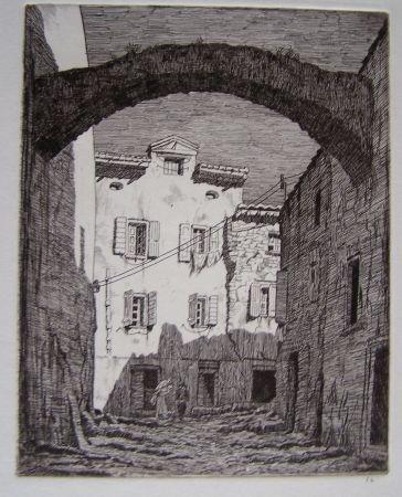 Grabado Strang - Collioure