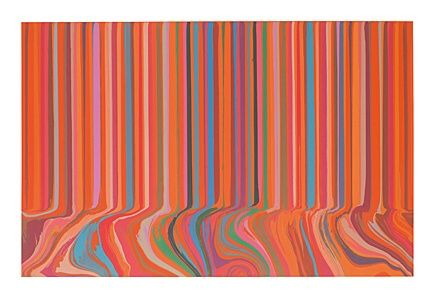 Aguafuerte Davenport - Colourcade Buzz: Red and Orange Mirrored