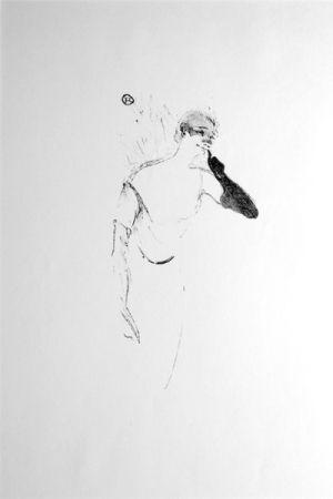 Litografía Toulouse-Lautrec - Columbine à Pierrot