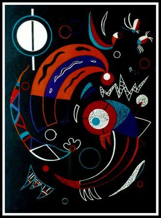 Litografía Kandinsky - COMETES