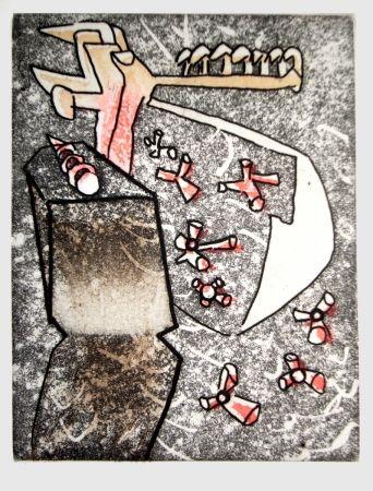Libro Ilustrado Matta - Comme un semis de lacunes