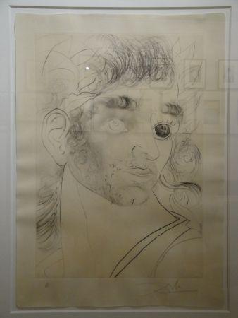 Aguafuerte Dali - Comment sont ses yeux... (Wie sehen seine Augen aus...)