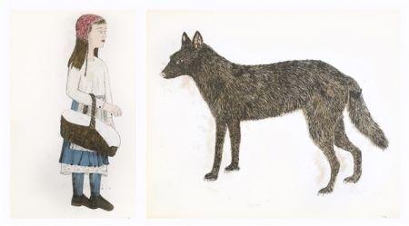 Litografía Smith - Companions - dyptique