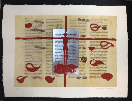 Múltiple Paladino - Complete folder with 8 works RABANUS MAURUS - De Universo
