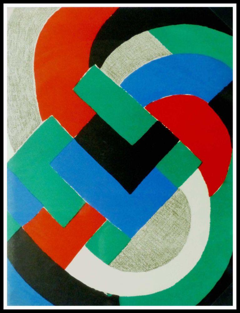 Litografía Delaunay - COMPOSITION