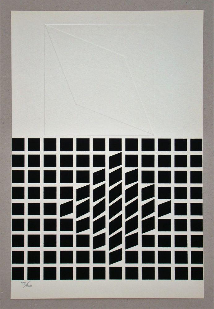 Serigrafía Vasarely - Composition