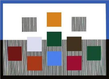 Serigrafía Soto - Composition