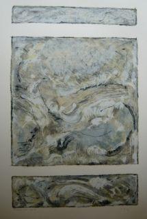 Litografía Jonneskindt - Composition
