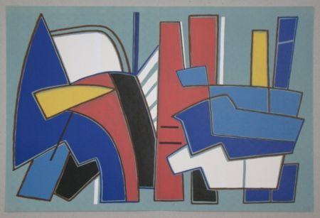 Litografía Magnelli - Composition