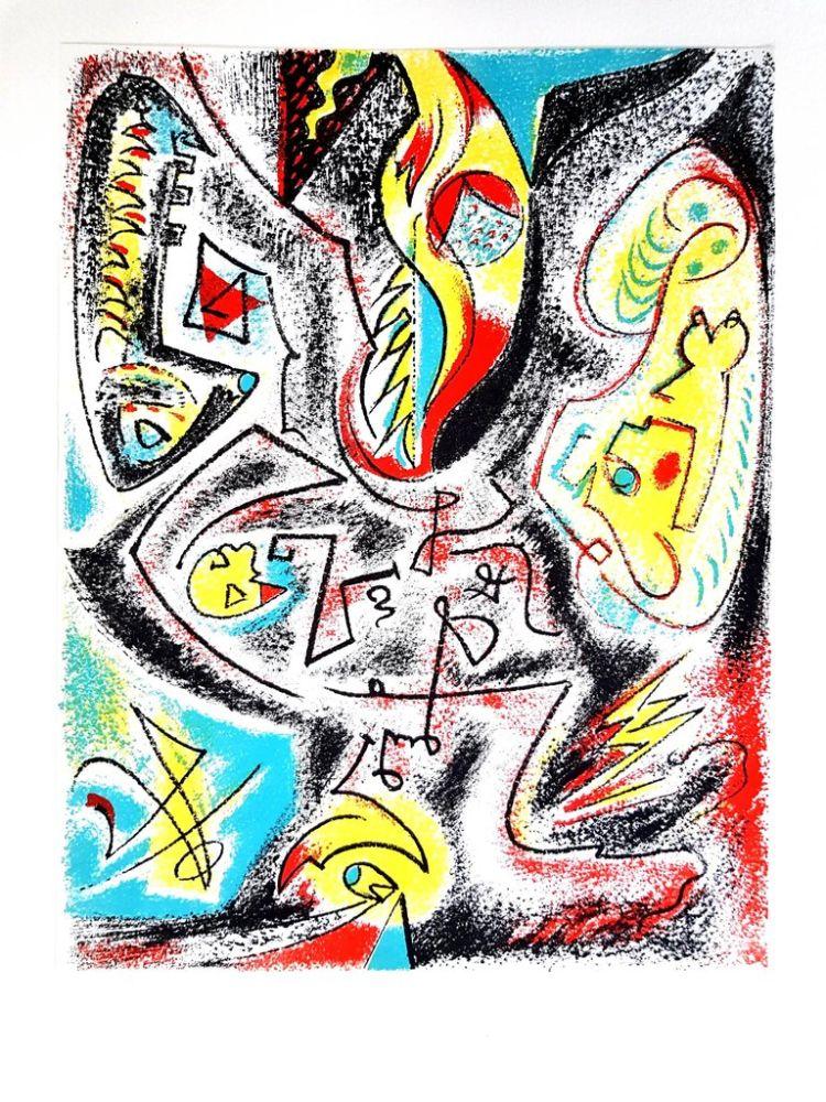 Litografía Masson - Composition