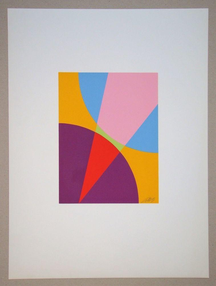 Serigrafía Béöthy Steiner - Composition
