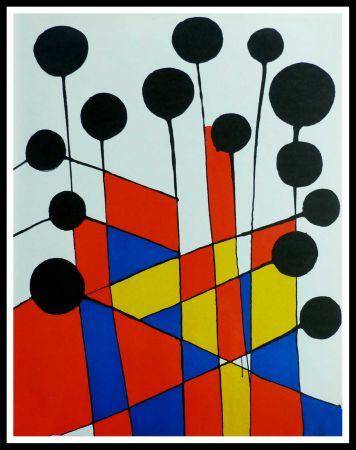 Litografía Calder - COMPOSITION