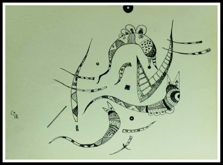 Litografía Kandinsky - COMPOSITION