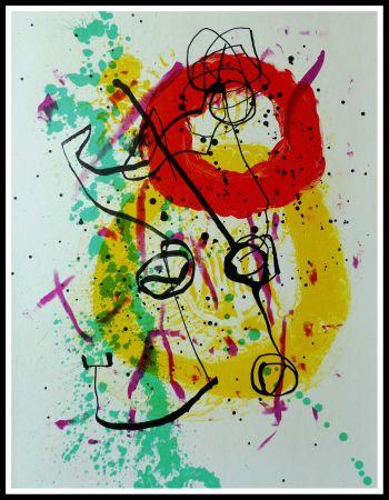 Litografía Miró - COMPOSITION