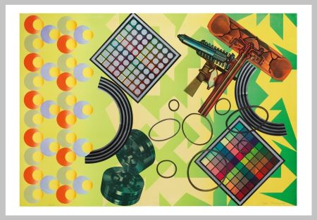 Serigrafía Phillips - Composition