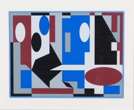 Litografía Vasarely - Composition