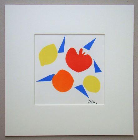 Litografía Matisse (After) - Composition