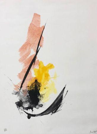 Litografía Miotte - Composition