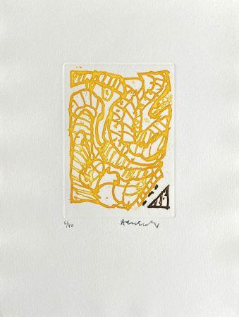 Grabado Alechinsky - Composition