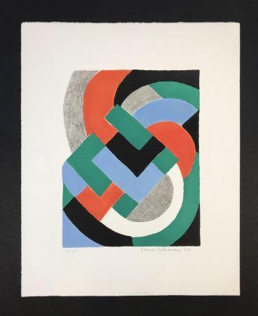 Serigrafía Delaunay - Composition