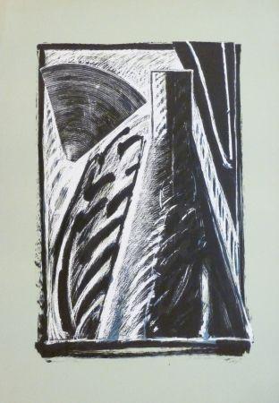 Litografía Titus Carmel - Composition